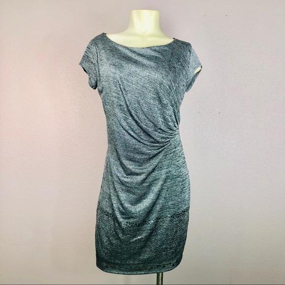 Desigual Dresses & Skirts - Desigual Metallic Knit Dress NWOT